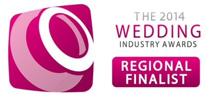 Regional Finalist - 2014 Wedding Industry Awards