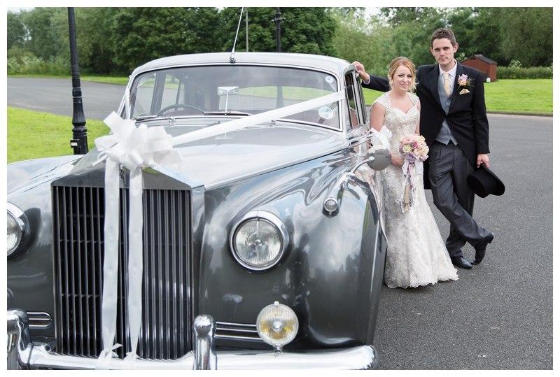 Arrowmill wedding car