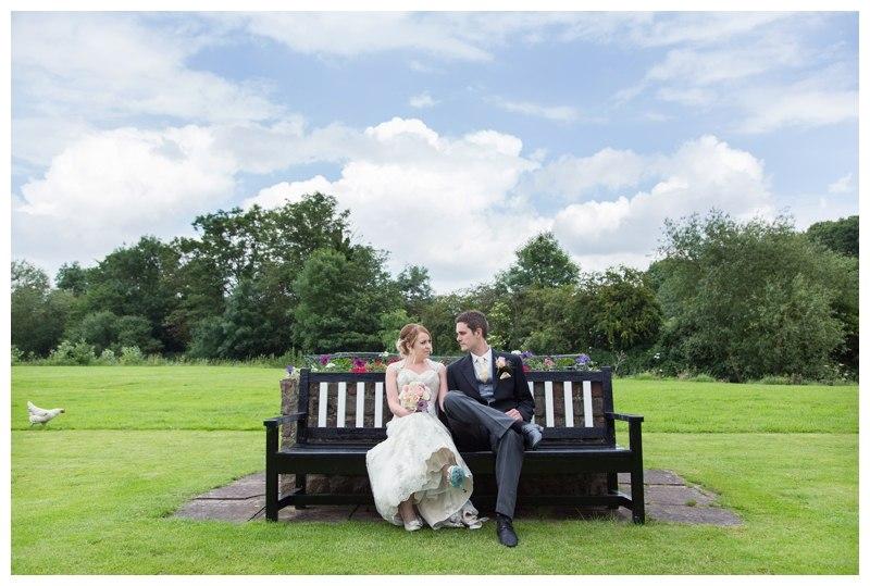Arrowmill wedding bench