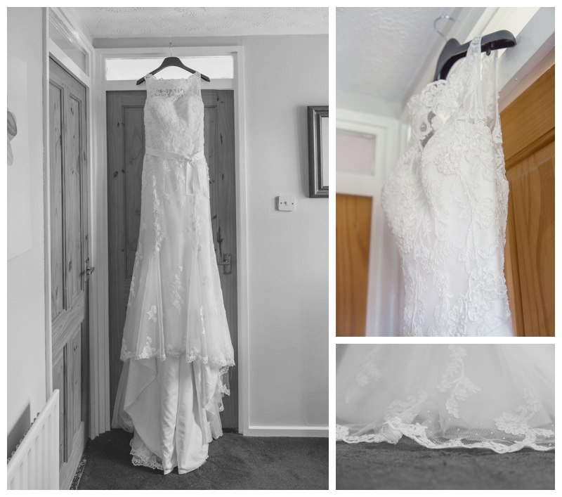 Solihull wedding photography dress