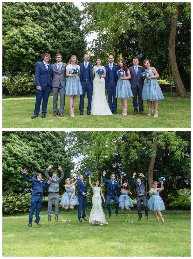Solihull wedding photography Grafton Manor group