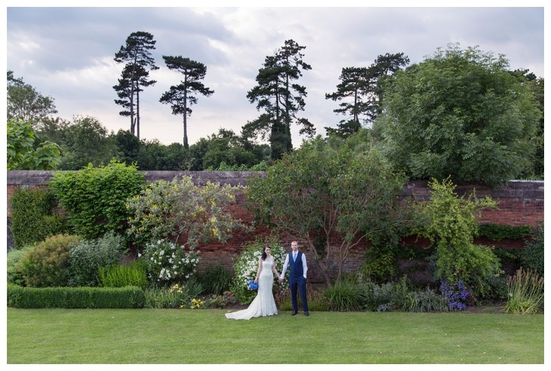 Solihull wedding photography Grafton Manor trees