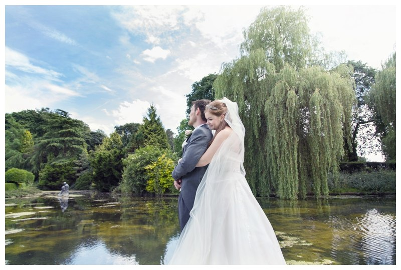 Coombe Abbey Wedding willow tree