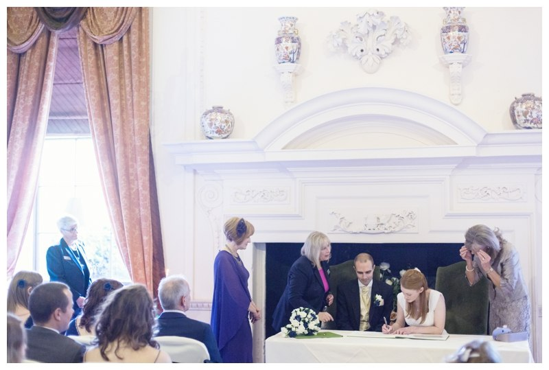 signing the register at coombe abbey