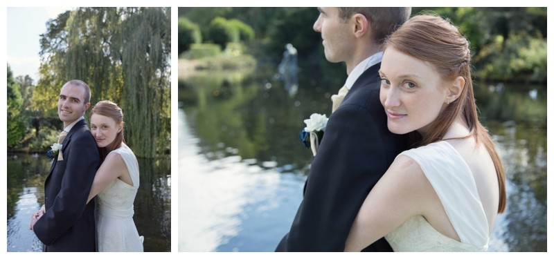 bridal portraits by willow tree