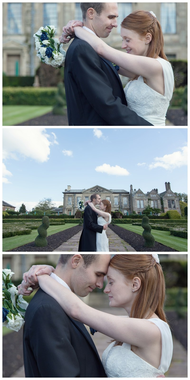 couple shots with coombe abbey in the background