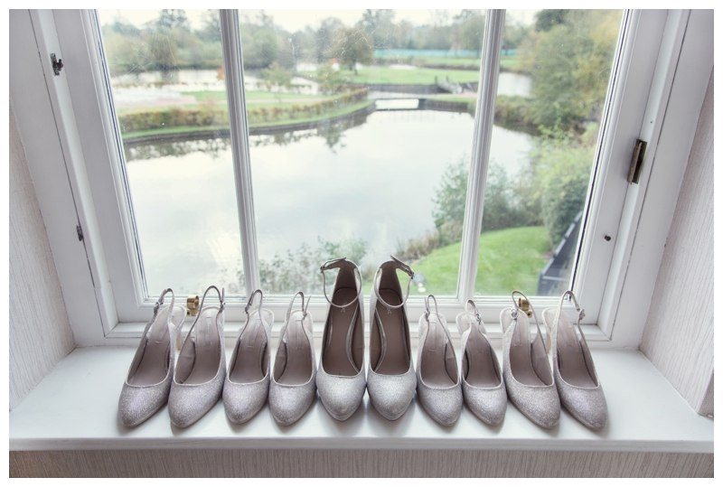 Bridal party shoes