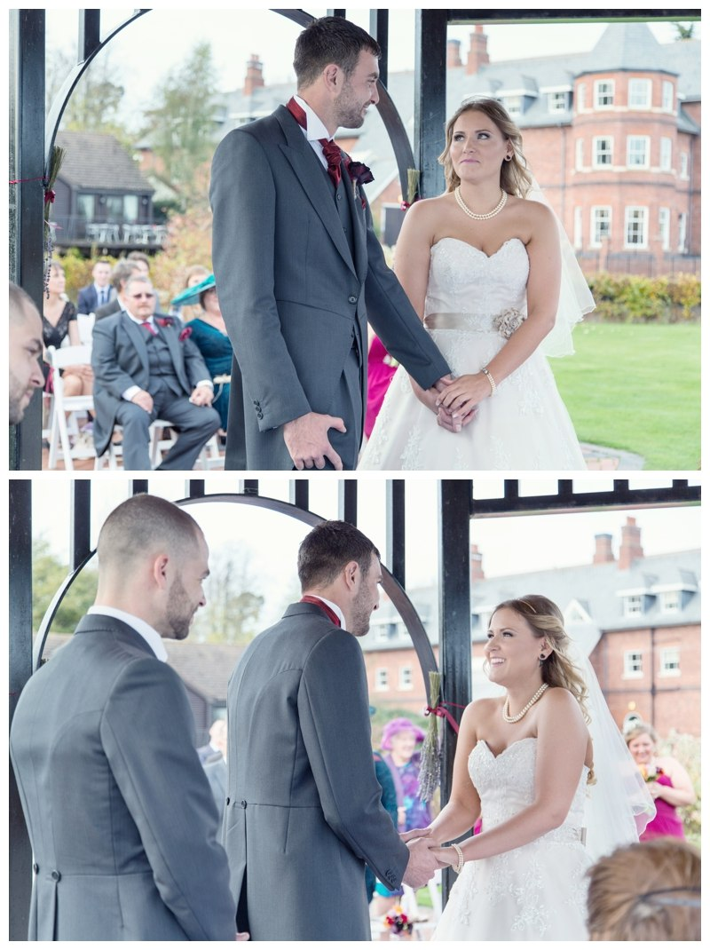 Ardencote Manor outdoor Wedding