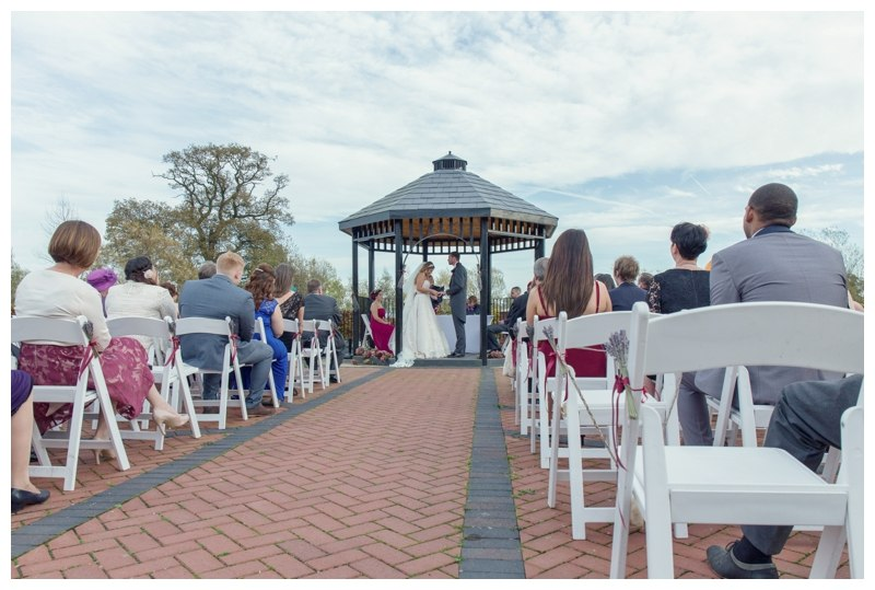 ARdencote manor wedding ceremony