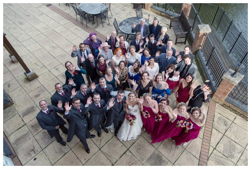 Large group photo Ardencote Manor