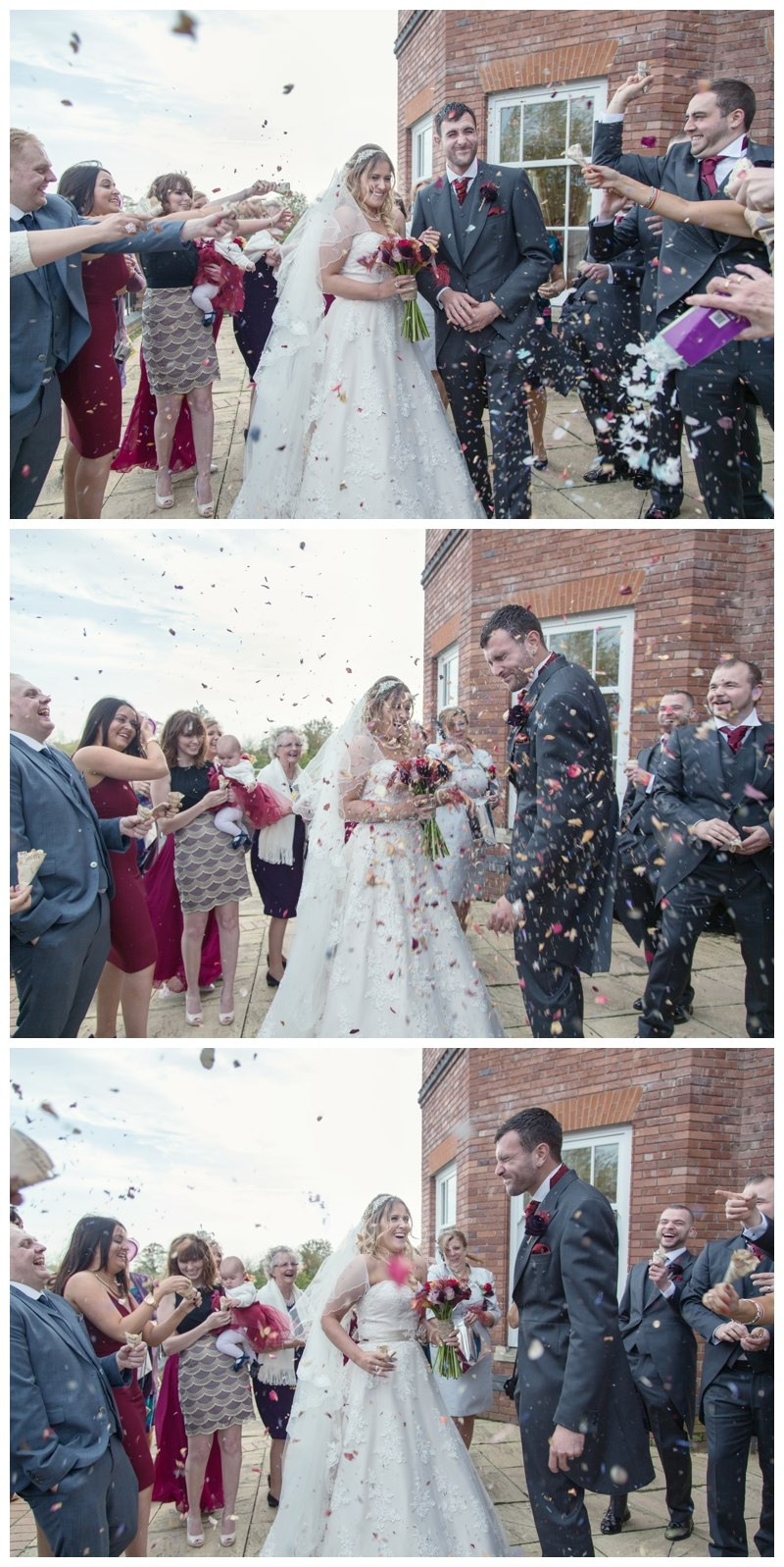Ardencote Manor Wedding confetti
