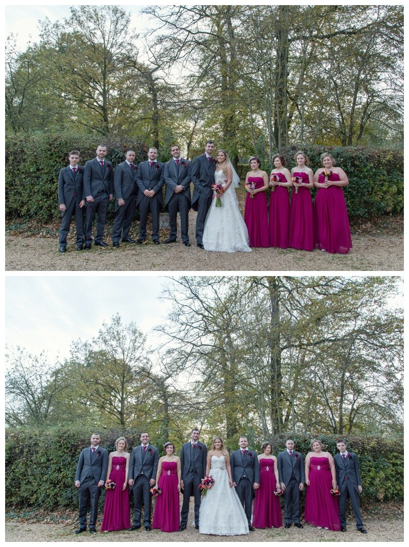 Ardencote Manor Wedding group