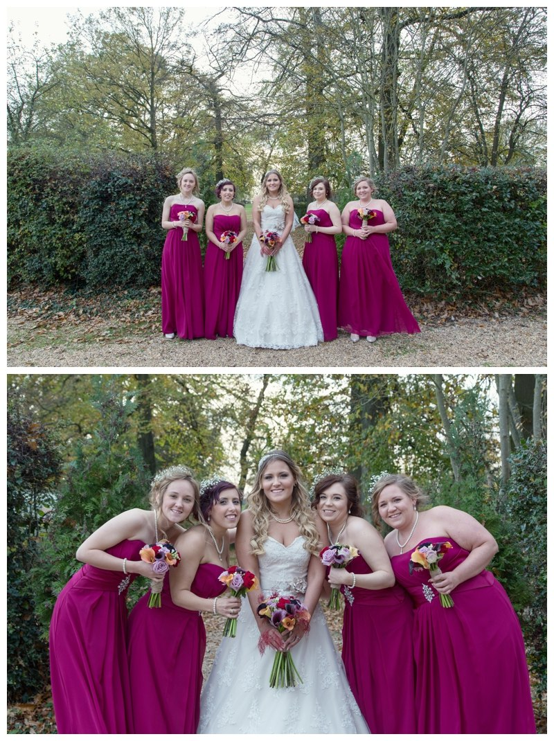 Bride and Bridesmaids Ardencote Manor