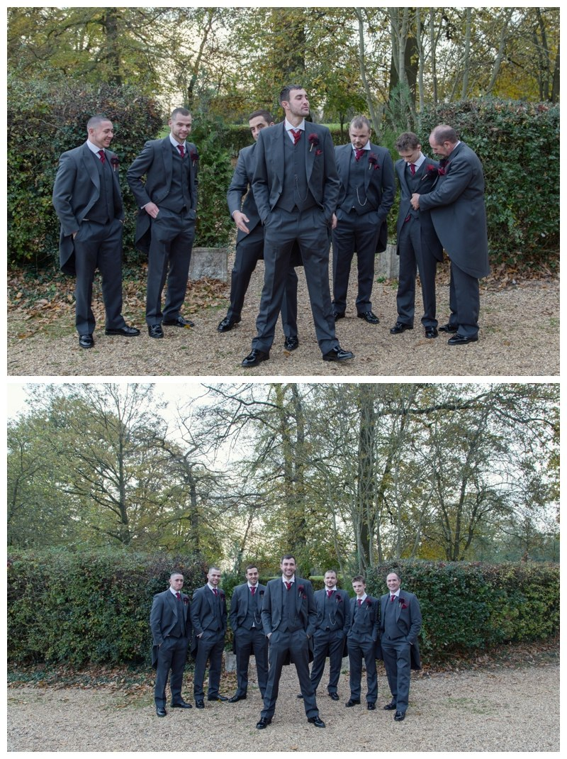 Groom and Groomsmen Ardencote Manor