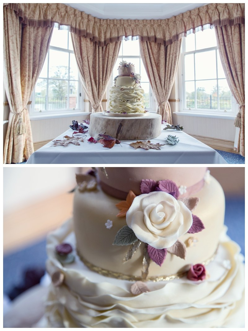 Wedding Cake Ardencote Manor