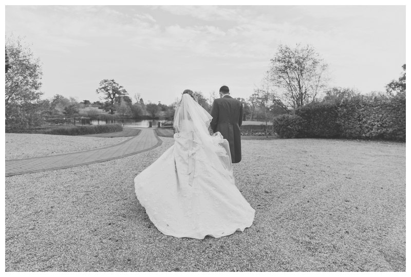 Bride and Groom Ardencote Manor