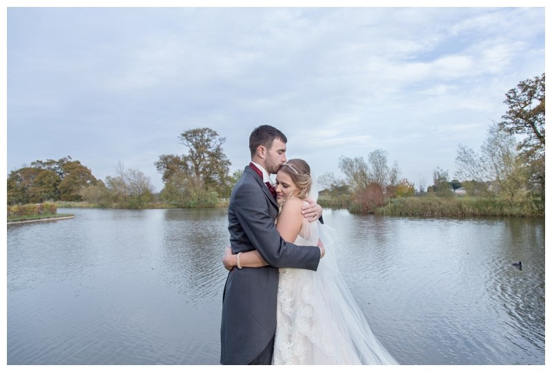 Ardencote Manor Wedding lake