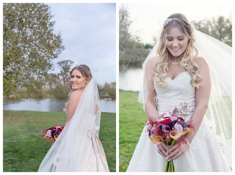 Bridal Portraits at Ardencote Manor