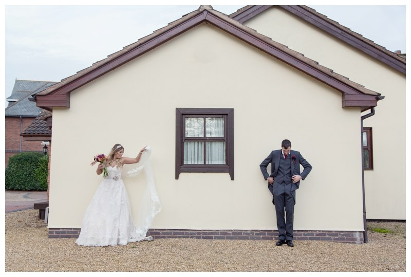Ardencote Manor Wedding couple