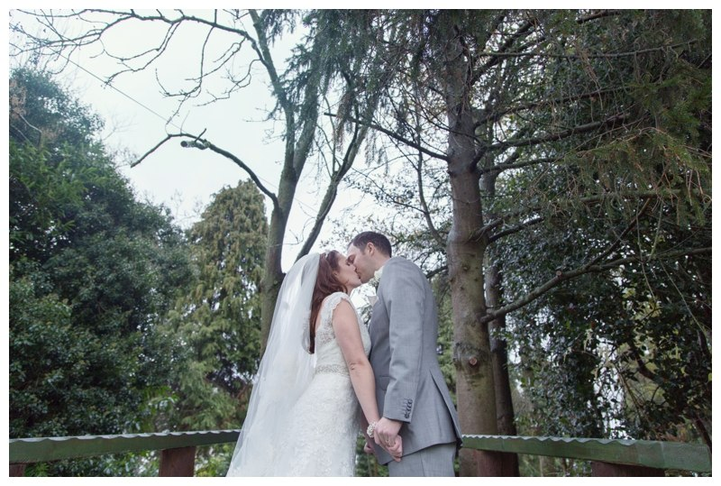 Nuthurst Grange Wedding couple