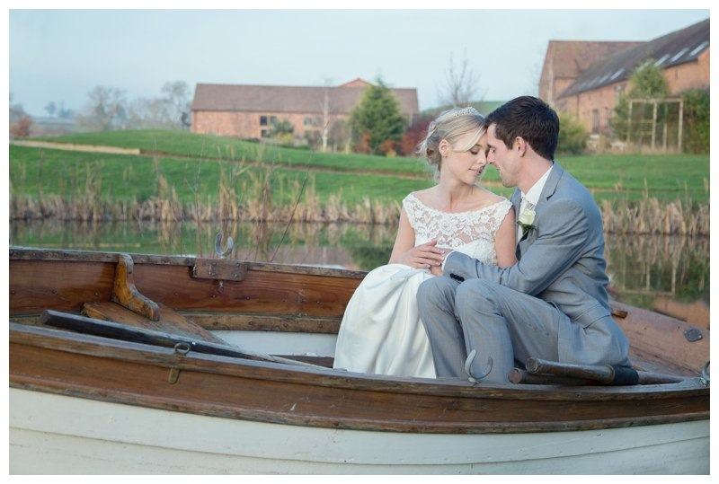 Wootton Park wedding boat