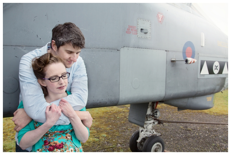 couple at the Midland Air Museum