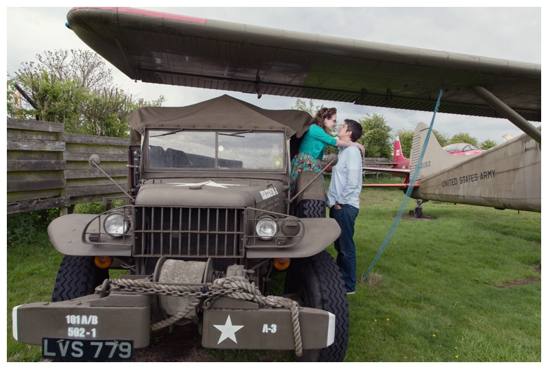 Midland Air Museum couple