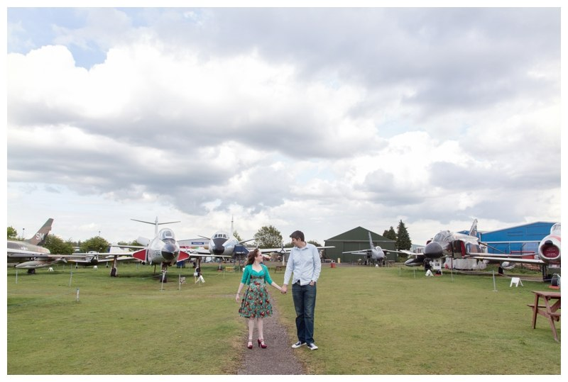 Couple in Midland Air Museum