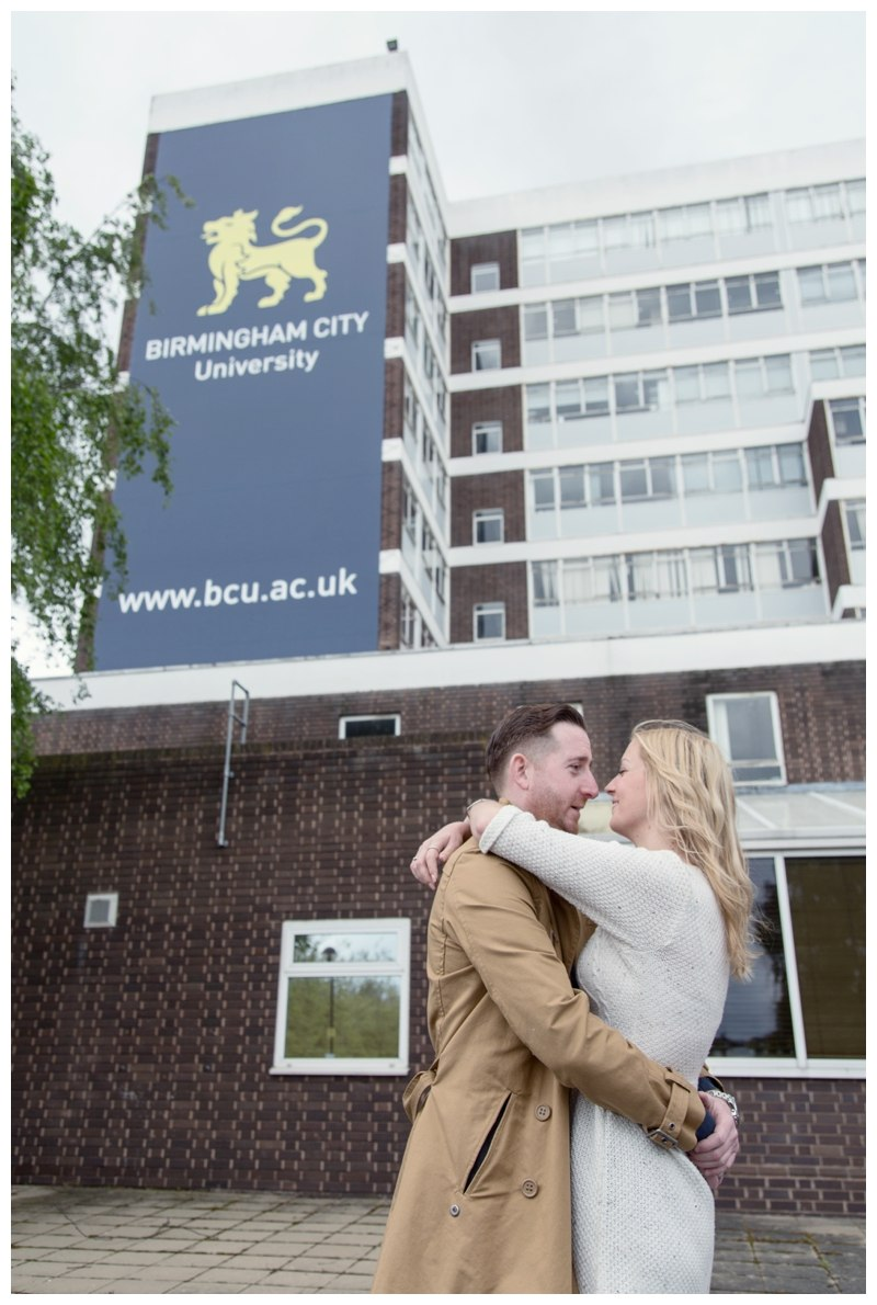 Birmingham City university couple