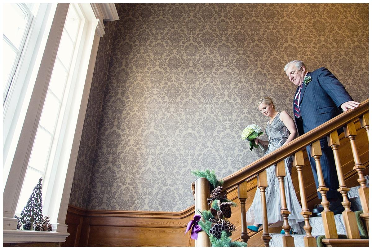 Brockencote Hall stairs