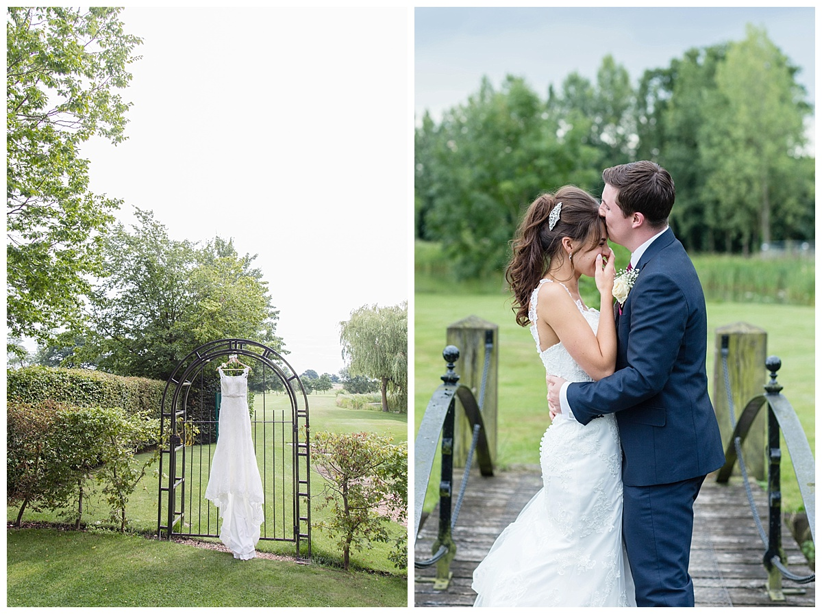 bridal portraits Ardencote Manor