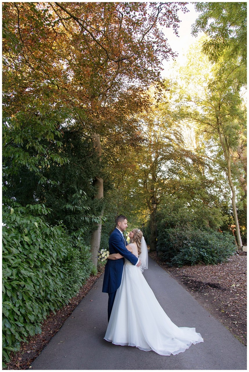 Nuthurst Grange couple shot