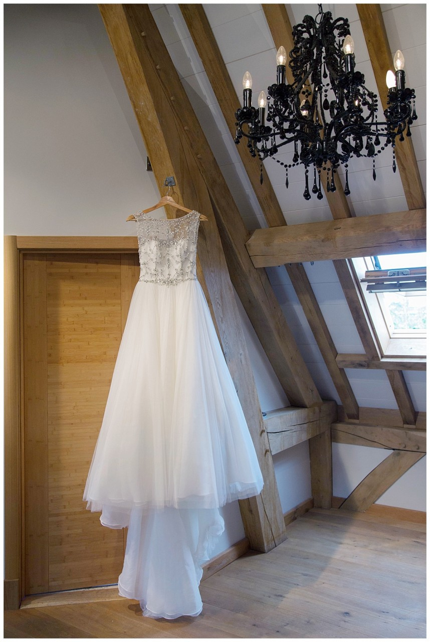 bridal gown Red House Barns