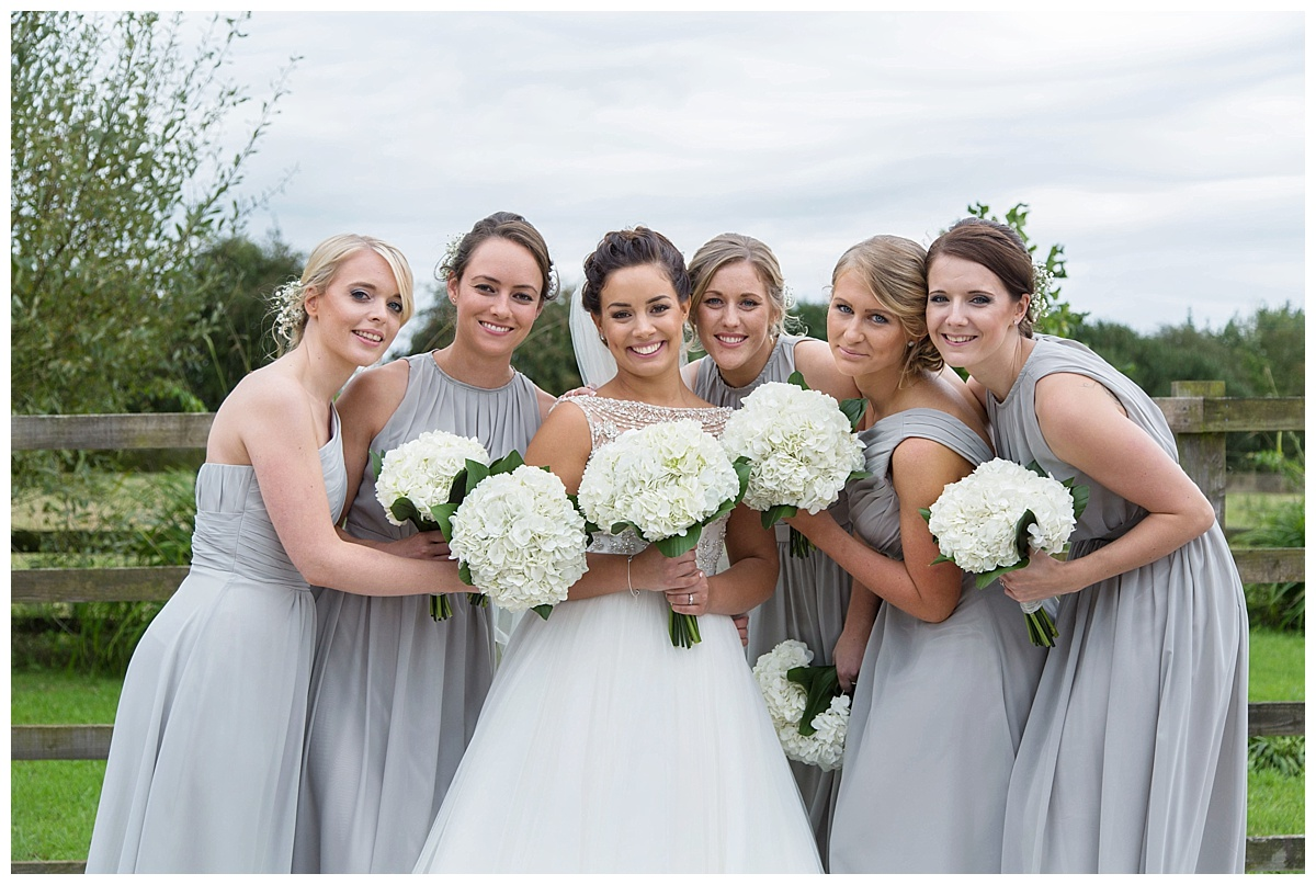 bridesmaids red house barns