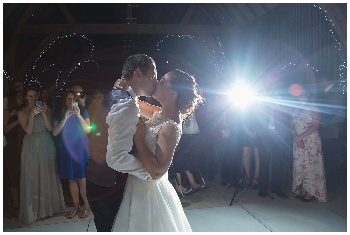 First dance red house barns