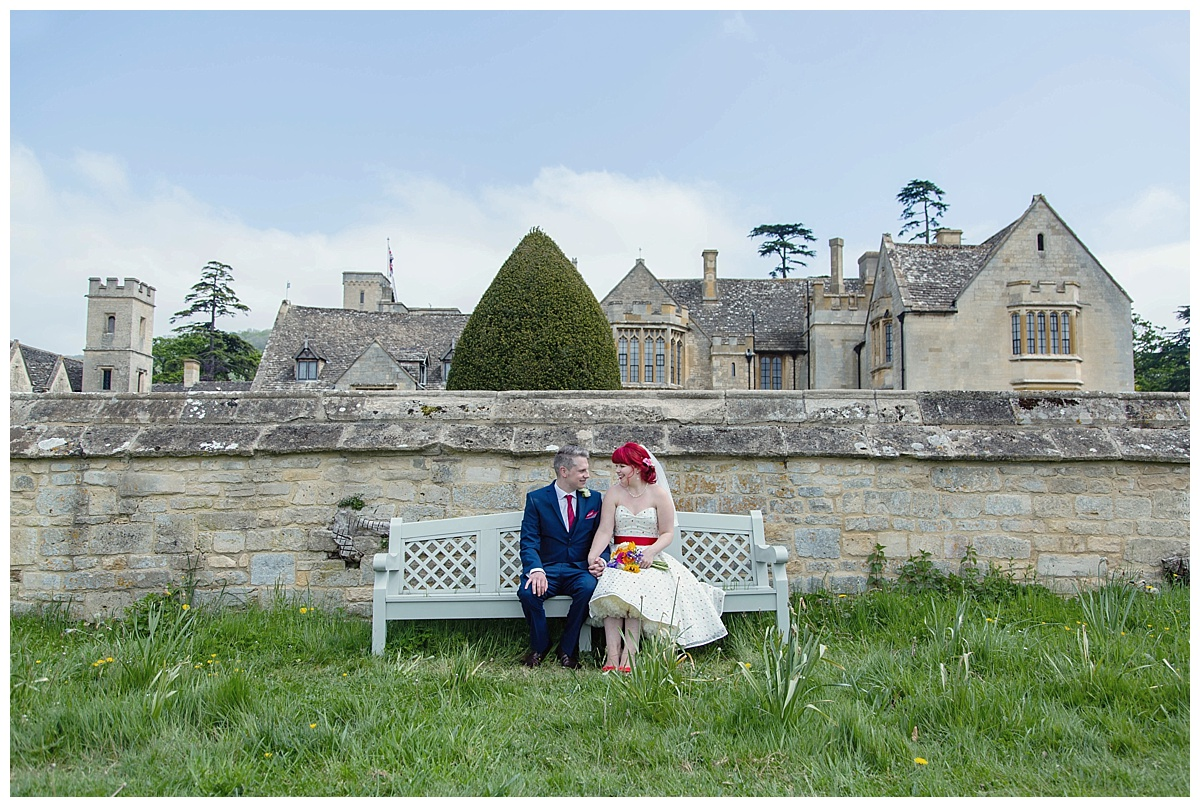 Ellenborough Park bench