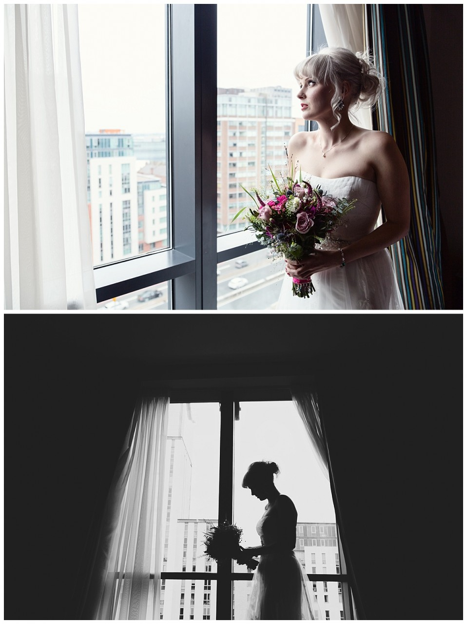 bride waiting to leave