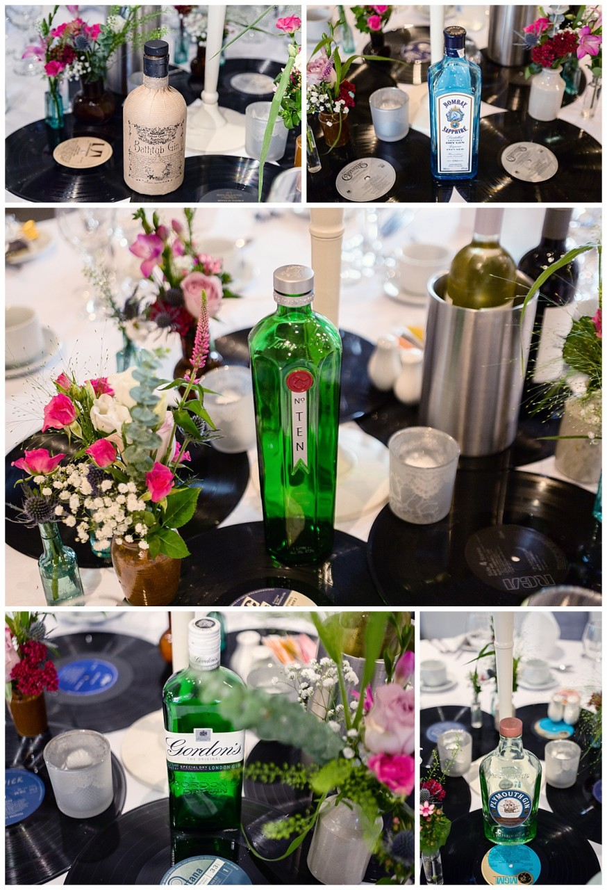 gin table centers