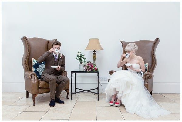 gin wedding at fazeley studios
