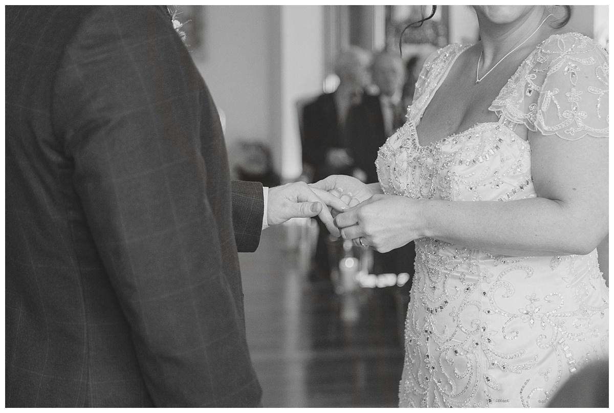 groom ring exchange