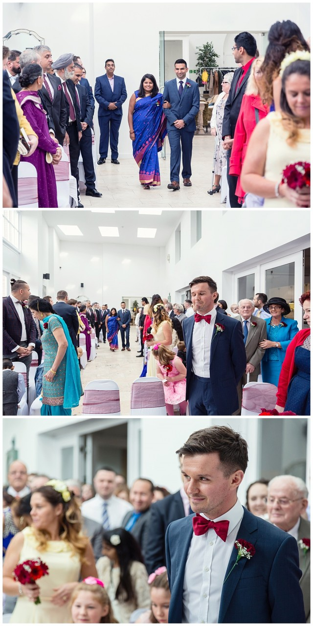 groom meeting his grrom
