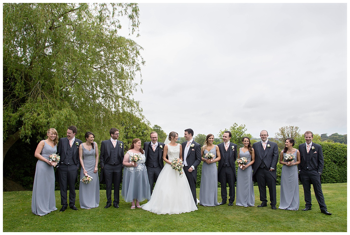 nuthurst grange bridal party