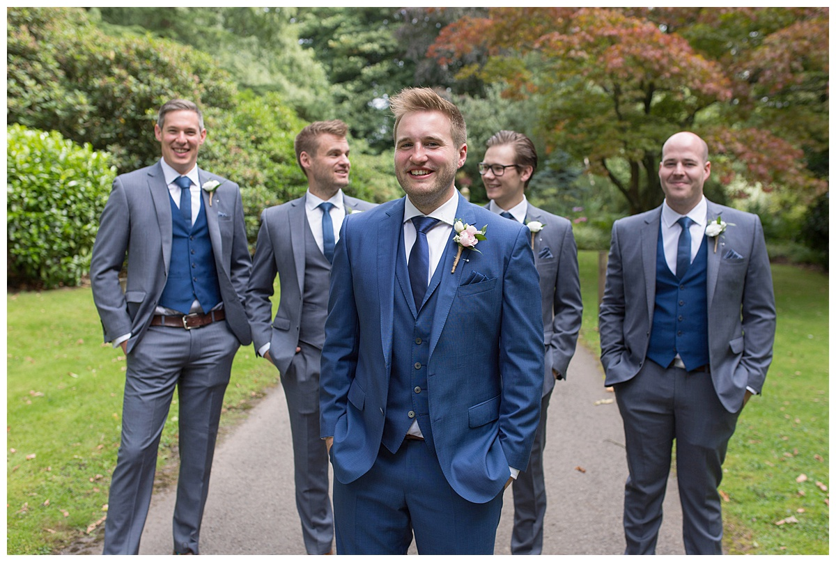 groomsmen hampton manor