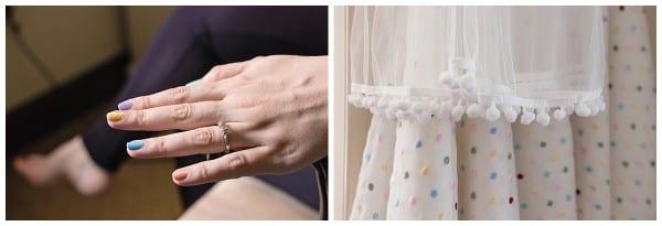 Bridal details at ellenborough park