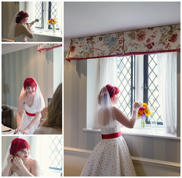 Bridal preparations at ellenborough park