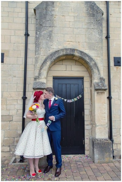 Just Married at Ellenborough park
