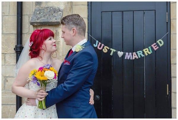 Just Married at Ellenborough park