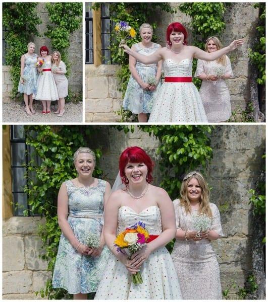 Bride and Bridesmaids Ellenborough park