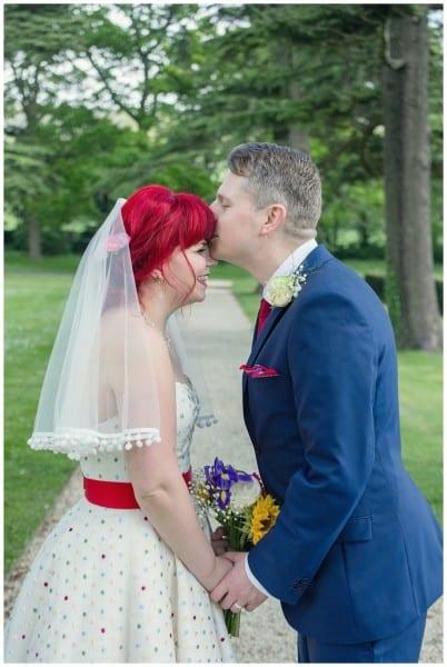 alternative wedding photography Elenborough Park