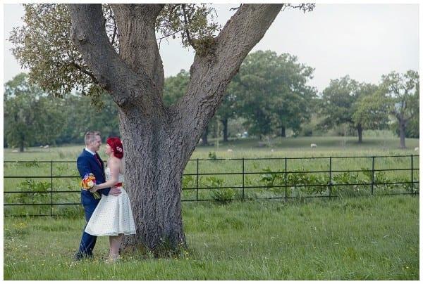 alternative couple at Ellenborough park